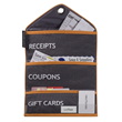 Shopping Organizer for Receipts, Gift Cards and Coupons