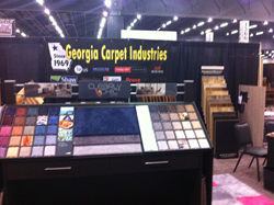 Georgia Carpet Ind. Booth at Atlanta Home Show, Atlanta, GA