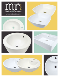 New Porcelain Sink Designs