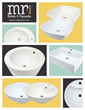 Five New Porcelain Vessel Sinks Introduced by MR Direct