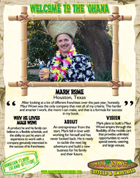 New Maui Wowi Franchisee Mark Rome
