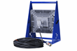 150 Watt Explosion Proof LED Light Fixture with 100' Cord for ample movement around a work space