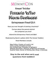 MommyCon Family Business panel