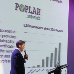 Rob Freeman presents Poplar Network at CTNext EIA Event