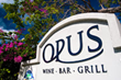 OPUS, an award-winning restaurant is a short stroll from the Tuscany.