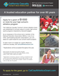 California Casualty Thomas R. Brown Athletics Grants Give Public High...