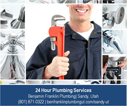 Plumbing Repair Service in Sandy Utah