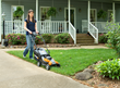 WORX 14 in. IntelliCut mower is lightweight and easy to maneuver