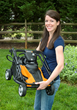 WORX 14 in. IntelliCut mower is compact and lightweight