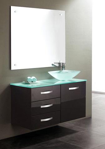 james martin solid wood 395 single bathroom vanity espresso 147 118 5131 - Bathroom Cabinets Wall Mounted