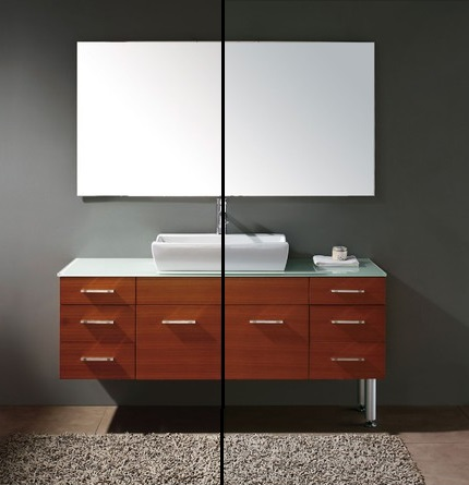 HomeThangs.com Has Introduced a Guide to Wall Mounted Bathroom Vanities and Why They Sometimes Come with Legs