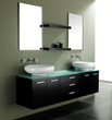 "James Martin Solid Wood 72"" Double Sink Bathroom Vanity, Espresso 147-513-DA-5831"
