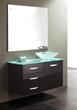 "James Martin Solid Wood 39.5"" Single Bathroom Vanity, Espresso 147-118-5131"