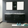 "James Martin Solid Wood 71"" Double Sink Bathroom Vanity, Espresso 147-519-DA-5831"