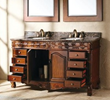 Classico James Martin Solid Wood 60 Double Granite Top Bathroom Vanity Cherry 206-001-5502