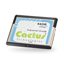 Industrial Grade CFast with Write Protect Switch