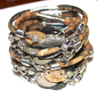 Fossilized Pebble Bracelets from FizzCandy's Spring 2014 Gem*stone Collection