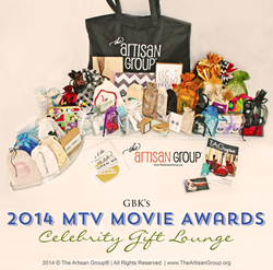 The Artisan Group Swag Bag for the 2014 MTV Movie Awards