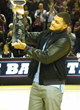 Mike Evans Presented 2013 CFPA Wide Receiver Trophy