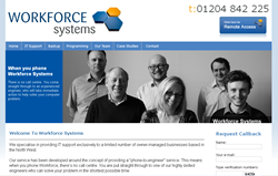 The new Workforce Systems website