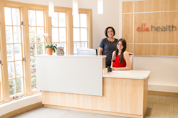 Ella Health Westport front desk
