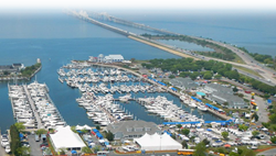 Bay Bridge Boat Show in Stevensville, Maryland on April 11-13, 2014.