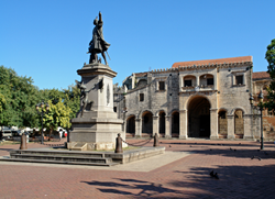 Colonial monuments and architecture in Santo Domingo, Dominican Republic