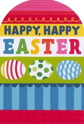 Happy Easter card from Hallmark