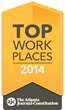 Payscape Advisors Named a 2014 Top Workplace by Atlanta...
