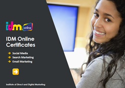Digital marketing courses in social media, search marketing and email marketing
