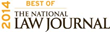 Jaffe in top 3 of The Best of The National Law Journal 2014