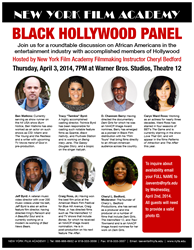 Black Hollywood Panel at NYFA Los Angeles