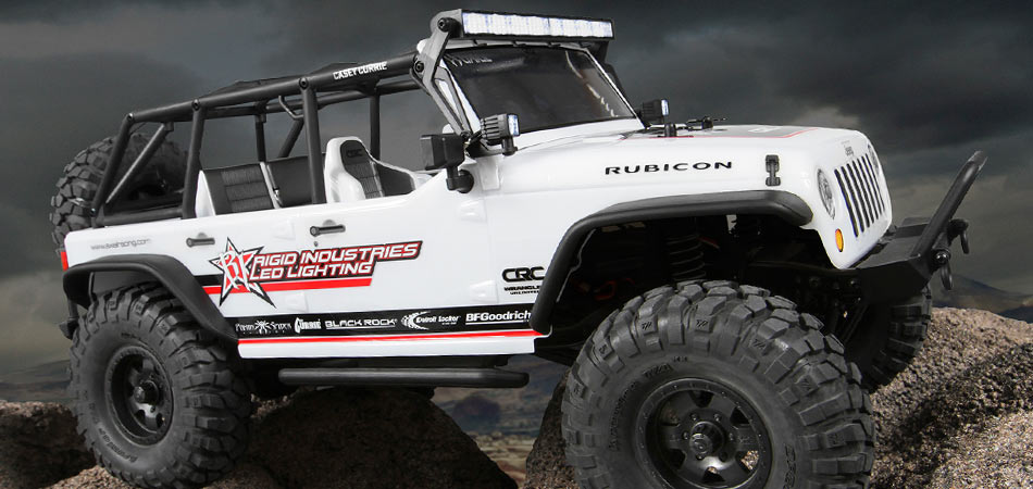 Axial Teams Up With Rigid Industries Led Lighting And Off