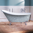 Looking to Add a Sparkle to Your Bathroom? Inject Life Into Dull Bathrooms With Better Bathrooms' Statement Limited Edition Diamond Encrusted Ice Bath