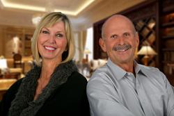 Kim Carlson & Ken Follis