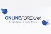 Online forex logotype