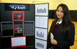 Alia, an 8th grader at Everest Academy, brought home 2nd Honors for her science project.
