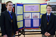 Jack and Mike make a team effort representing their science project and Everest Academy at the Regional Competition bringing home Outstanding Honors.