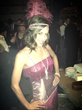 Flapper Nerissa England at the 8th Annual Prohibition Party.