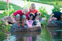 Indoor and Outdoor Play at the Kansas Children's Discovery Center Topeka Kansas