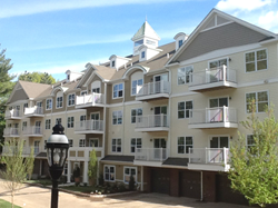 Quaker Green condo homes in West Hartford, CT