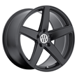Porsche Wheels by Victor Equipment - the Baden in Matte Black