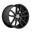 Porsche Wheels by Victor Equipment - the Kronen in Matte Black