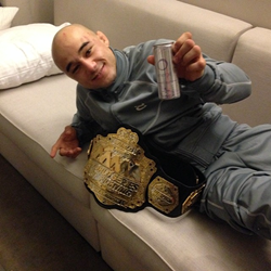 Marlon Moraes Celebrating With Some Energé
