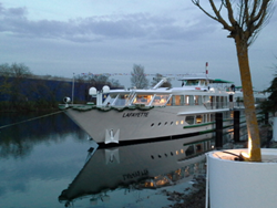 MS Lafayette is Christened in Strasbourg
