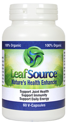 LeafSource Natural Arthritis Bursitis Fibromyalgia Pain Relief Supplement #1 OTC Anti Inflammatory for Tennis Elbow Tendonitis Shingles Shin Splints knee shoulder neck lower back hip & joint pain.