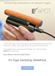 New Device Allows Cigar Smokers to Sample Blends Before Online...