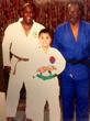 Judoka Chris Jones, Proud Blind Student (Green Belt), Coach Wil Merriweather