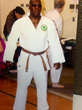 Chris Jones of the Blind Judo Foundation and Cahill's Judo Academy Providing Demonstrations and Support To Coach Merriweather's Event