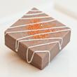 Chocolate Orange Truffle Buffer Exfoliating Bar from SoapyBliss Bath & Body Bakery